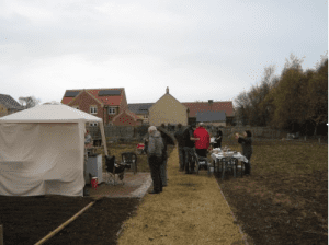 Oakham heights food co-op at allotments