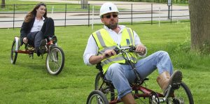 Pedal power at Monksmoor Park