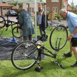 Pedal power at Monksmoor Park community event